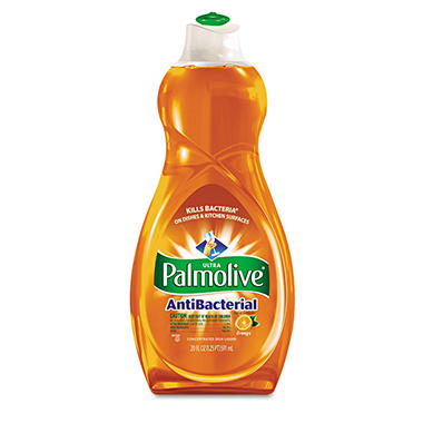 Ultra Palmolive Antibacterial Dishwashing Liquid, 20 oz.