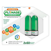 Children's Flonase Allergy Relief, Nasal Spray, 2-Pack  (120 Metered Sprays)