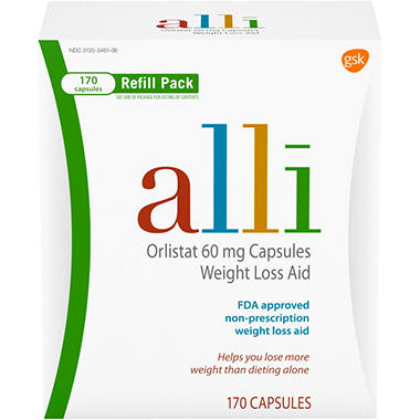 alli Weight Loss Aid - 170 ct.