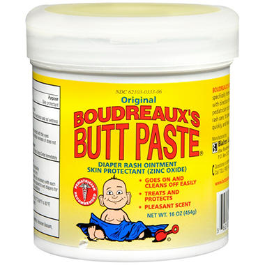 Boudreaux's Butt Paste Diaper Rash Ointment - 16 oz.