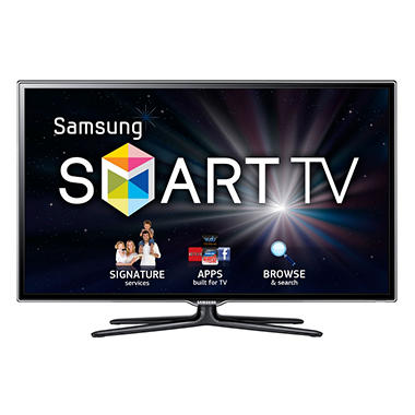 "46"" Samsung 3D LED 1080p CMR 480 HDTV w/ 4 pairs of 3D Glasses"