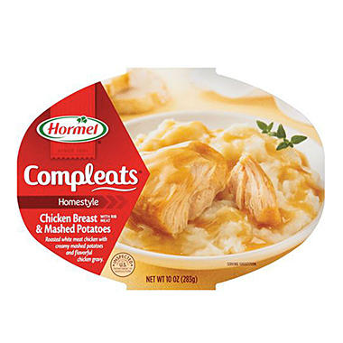 Hormel Completes Chicken and Mashed Potatoes - 10 oz. Bowl - 6 ct.