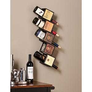 Carmen Wall Mount Wine Rack