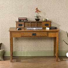 Callabasas Mission Oak Desk