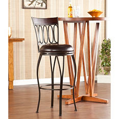 Avery Swivel Bar Stool