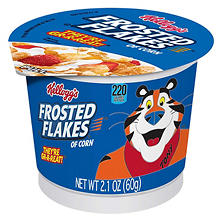 Kellogg's Frosted Flakes Cereal in a Cup - 2 oz. Cup - 12 ct.