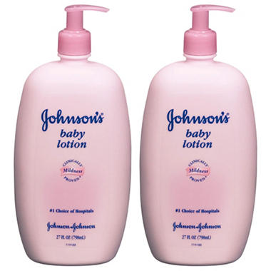 Johnson's Baby Lotion (27 fl. oz., 2 pk.)