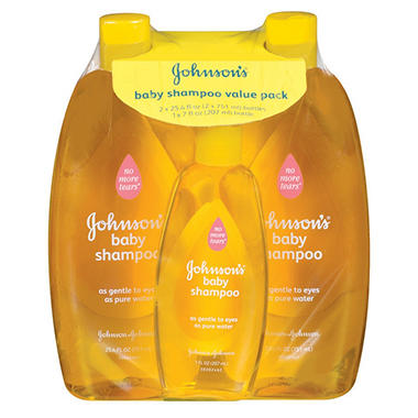 Johnson & Johnson's Baby Shampoo (57 oz., 3 pk.)