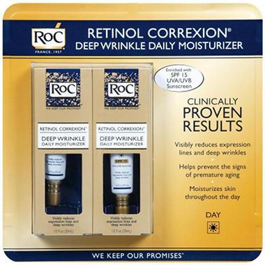 RoC Deep Wrinkle Retinol Correxion (1 oz., 2 pk.)