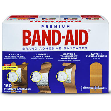 BAND-AID� Brand Adhesive Bandages - 160ct