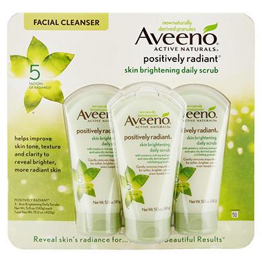 Aveeno Skin Brightening Daily Scrub (15 oz./3 pk.)