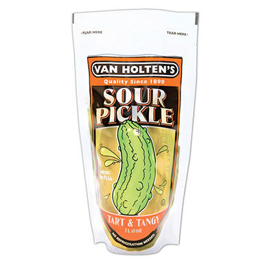 Van Holte Jumbo Sour Pickles - 12 ct.