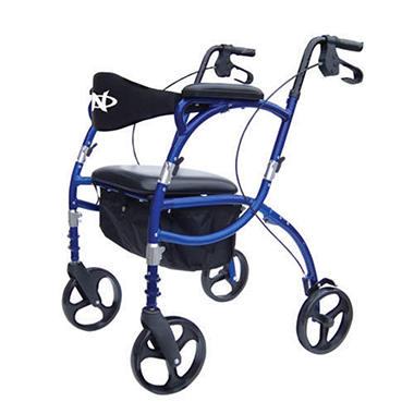 Hugo® Navigator: 2-in-1 Rollator &Transport Chair