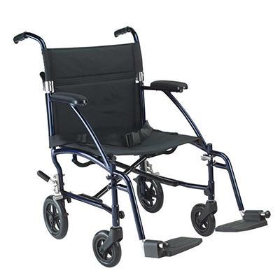 Hugo Transport Chair - Blue