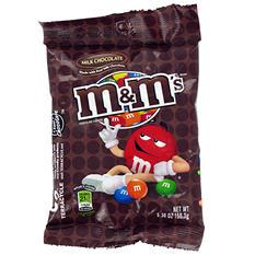 M&M's Milk Chocolate Candies (5.3 oz. bag, 12 ct.)