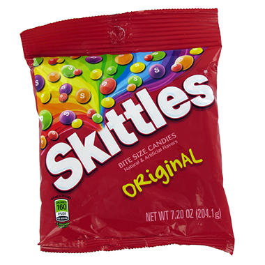 Skittles Original - 7.2 oz. Bag - 12 ct.