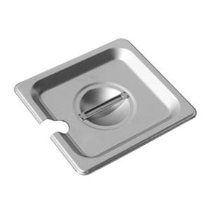 Chef's Supreme Sixth Size Food Pan Lid, Slotted