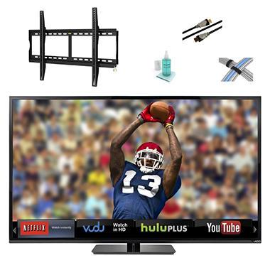 """70"""" VIZIO LED 1080p 120HZ Smart HDTV w/ Tilt Mount Kit"""