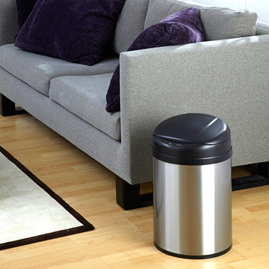 Nine Stars Sensor Trash Can - Stainless Steel - 8.2 Gallons