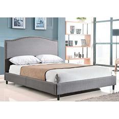 """Parker Queen Platform Bed & 10"""" Memory Foam Mattress"""