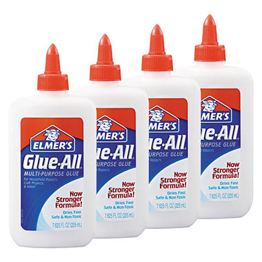 Elmer's Glue-All Multi-Purpose Glue - 7 5/8 oz. - 4 Pack