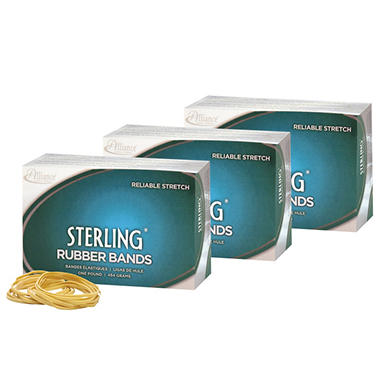 Alliance - Sterling Rubber Bands, #32, 3lbs - 2850 Count