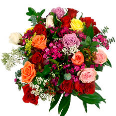 Single Rose Bouquet - 25 pk.