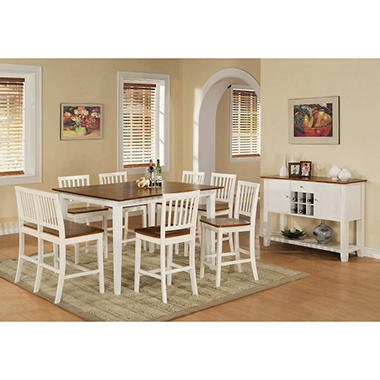Holden Counter Height Set by Lauren Wells - 9 pc.