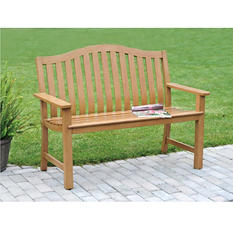 Sunjoy Smith Bench - Tan