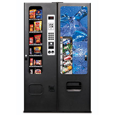 Selectivend 18 Drink/Snack Combo Vending Machine