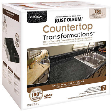 Rust-Oleum Countertop Transformations Kit - Charcoal