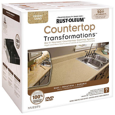 Rust-Oleum Countertop Transformations Kit - Sand