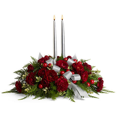 Teleflora's Berries and Blooms Centerpiece