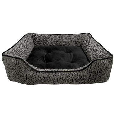 Canine Creations - Zuma Lounger Pet Bed - Gray