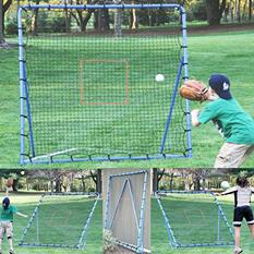 EZ-Goal Baseball Super Fast Pitch-back Rebounder Set