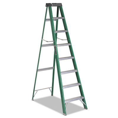 #592 Fiberglass Step Ladder, 8 foot, ANSI Type II