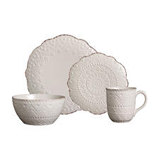 Pfaltzgraff Remembrance 16-Piece Dinnerware Set (Assorted Colors)