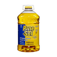 Pine-Sol - All-Purpose Cleaner, Lemon, 144 oz -  3 Bottles/Carton