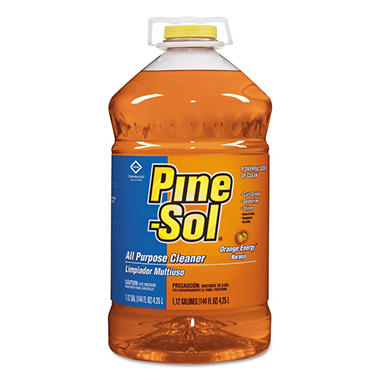 Pine-Sol Multi-Surface Cleaner - Orange Energy Scent - 144 oz - 3 pk.