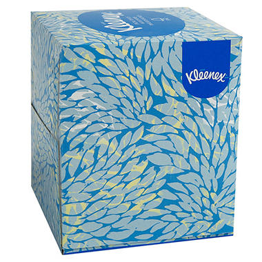 Kleenex - Boutique White Facial Tissue, 2-Ply, Pop-Up Box, 95/Box - 36 Boxes/Carton
