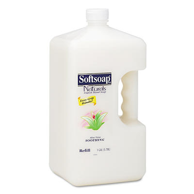 Softsoap - Aloe Vera Moisturizing Hand Soap Refill, 1 Gallon - 4 pk.