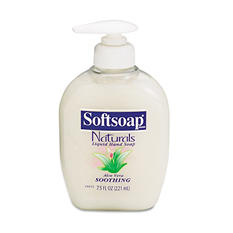 Softsoap - Moisturizing Hand Soap w/Aloe, 7.5oz - 12 pk.