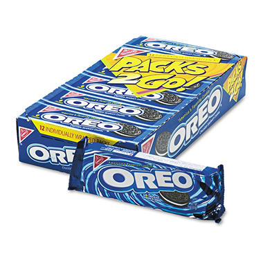 Nabisco� Oreo� Cookies - 6 cookie per pack - 12 pk. box