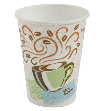 Dixie - PerfecTouch, Insulated Paper Cup, 12 oz. - 1,000 Cups
