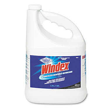 Windex Powerized Formula Glass & Surface Cleaner - 1 Gallon - 4 Pack