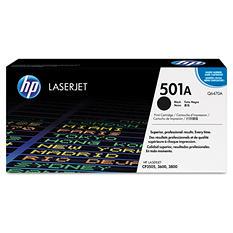 HP 501A Original Laser Jet Toner Cartridge, Select Color