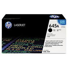 HP 645A Original Laser Jet Toner Cartridge, Select Color