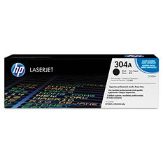 HP 304A Original Laser Jet Toner Cartridge, Select Color/Type