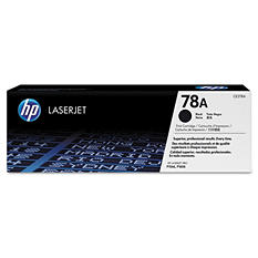 HP 78A Original Laser Jet Toner Cartridge, Black (2,100 Page Yield)