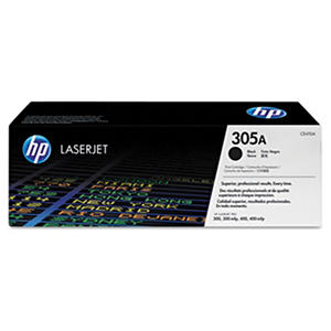 HP 305A Original Laser Jet Toner Cartridge, Select Color/Type
